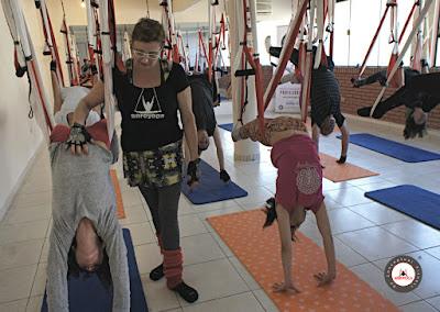 columpio, yoga pilates