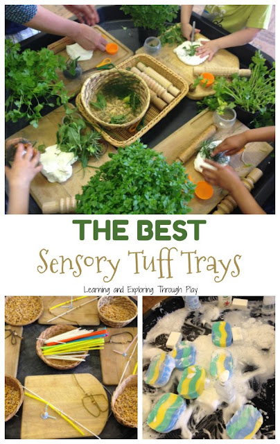 Sensory Tuff Trays for Preschool and Early Years
