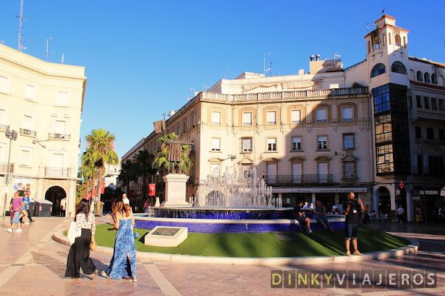 Huelva. Plaza de las Monjas