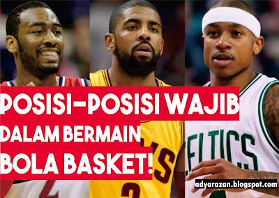 pasti pembaca sudah kenal betul dengan olahraga ini 5 Posisi WAJIB dan Tugas di Permainan Bola Basket