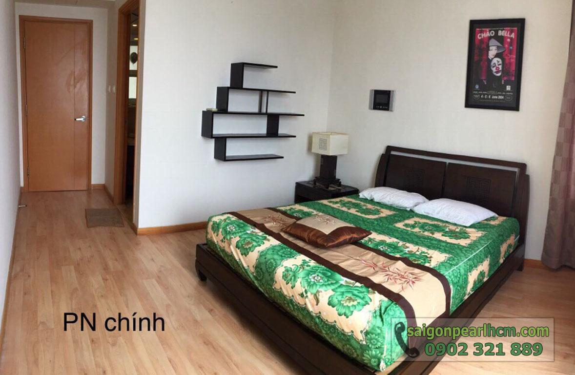 Saigon Pearl Bình Thạnh cho thuê căn hộ - phòng ngủ chính