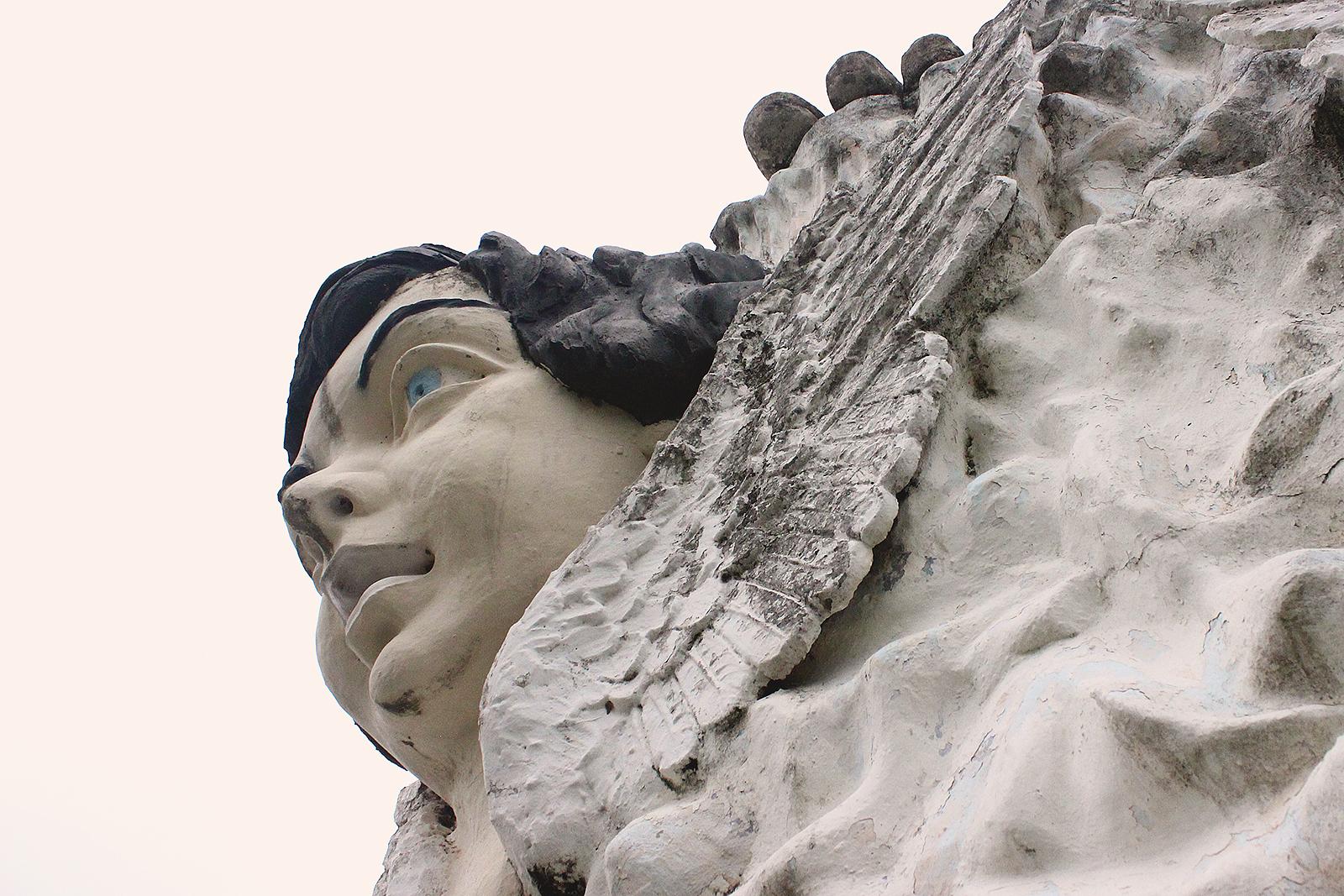 rosto anjo monumento são paulo