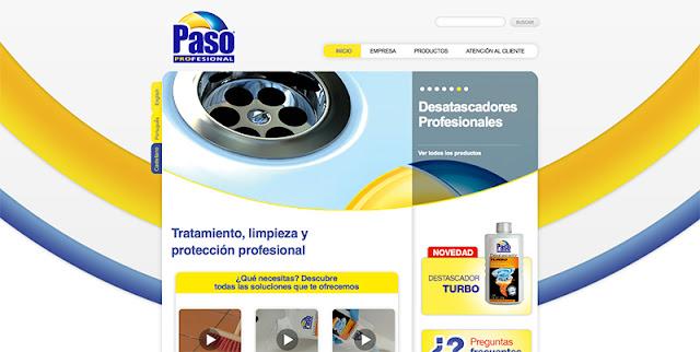 Paso Profesional página web