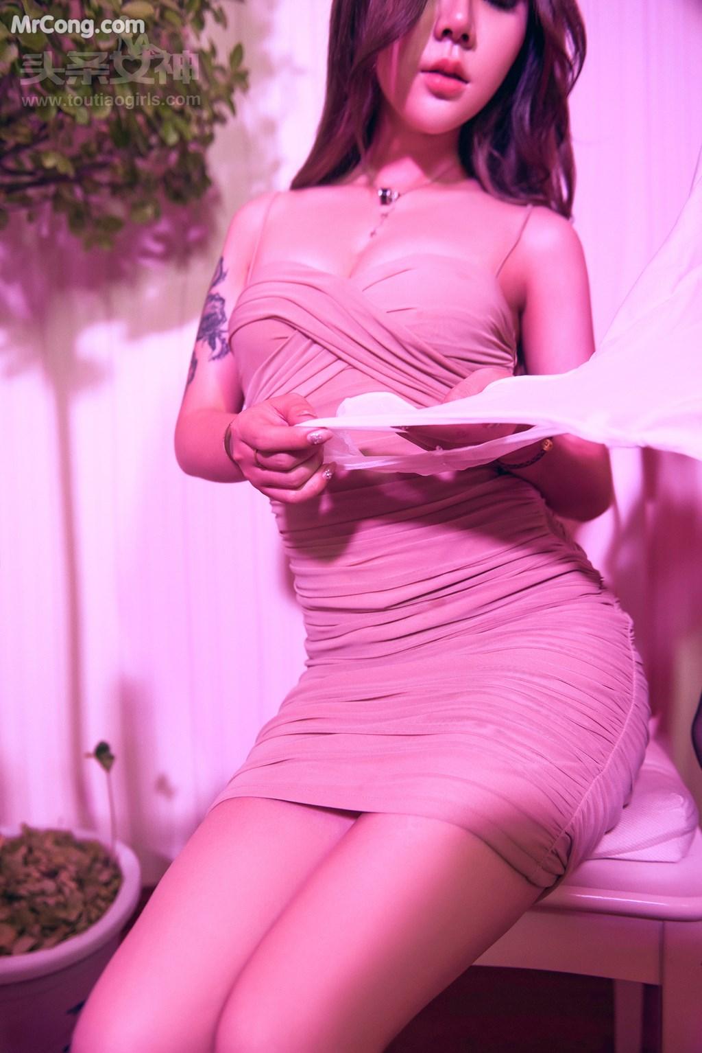 Image TouTiao-2017-08-18-Lisa-Aili-Sha--Jiu-Er-MrCong.com-009 in post TouTiao 2017-08-18: Người mẫu Lisa (爱丽莎) và Jiu Er (九儿) (52 ảnh)