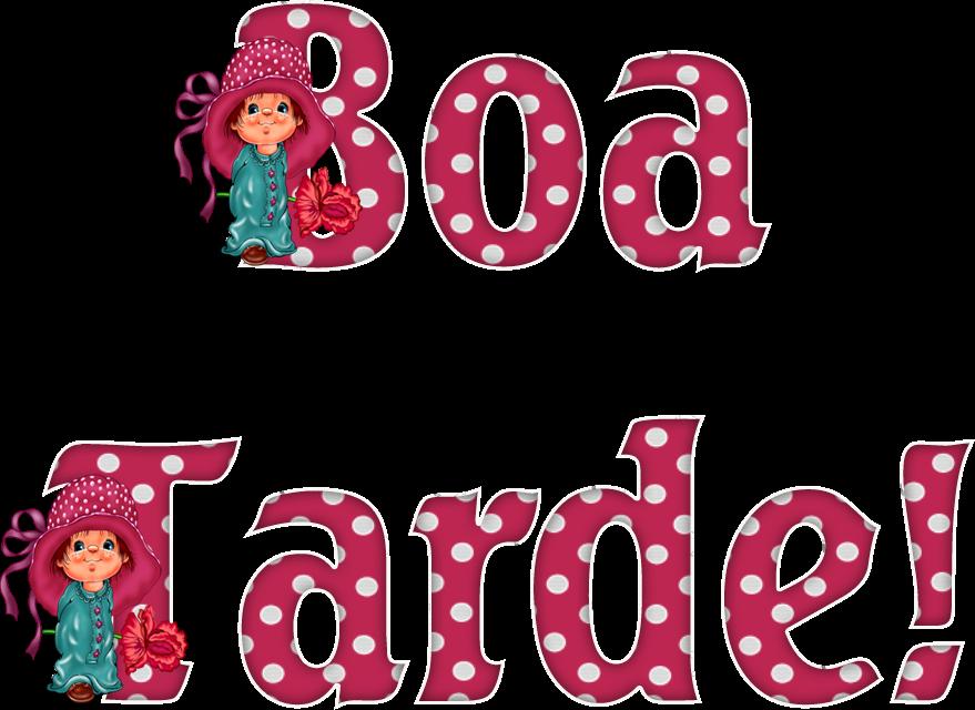 Boa Tarde: Alfabeto Decorativo: Boa Tarde!