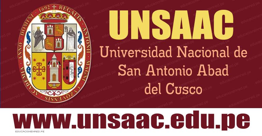 Resultados SIMULACRO UNSAAC 2019-2 (Domingo 11 Agosto) Lista de Aprobados - Modalidad Simulacro Ordinario - Examen Admisión - Universidad Nacional de San Antonio Abad del Cusco - www.unsaac.edu.pe