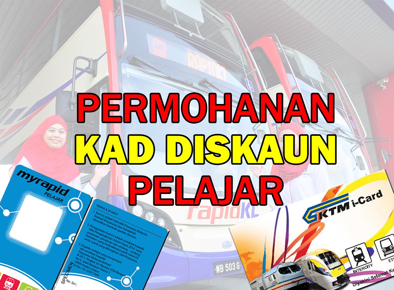 Rapidkl Ktmb Ets Info Kad Diskaun Pelajar Bagi Pengangkutan Awam Spad Daengselili Net