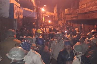 यूपी: बसपा नेता की गोली मारकर हत्या, गुस्साई भीड़ ने की आगजनी
