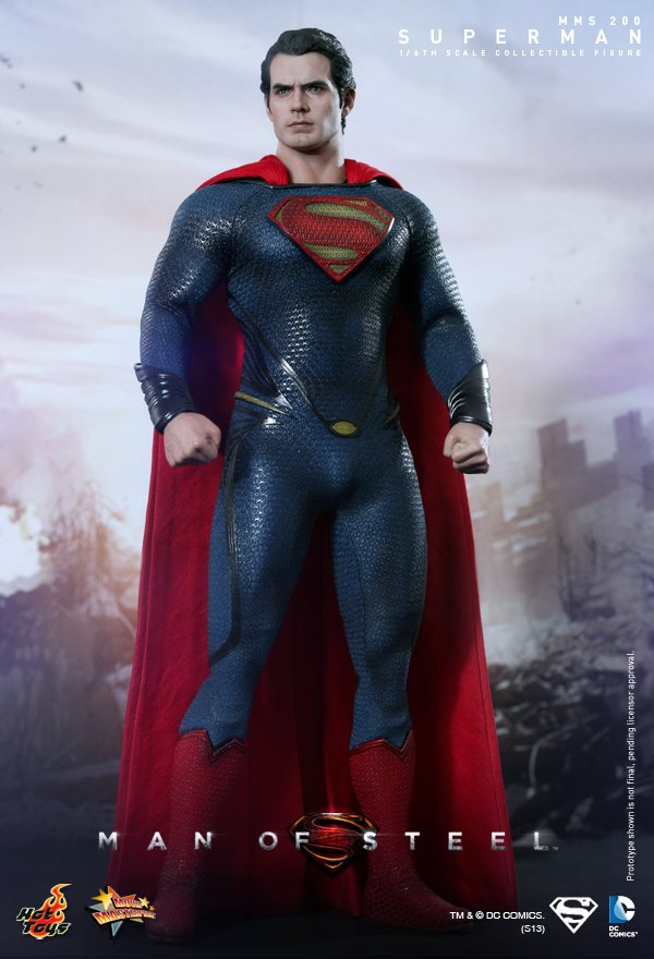 Onesixthscalepictures Hot Toys Man Of Steel Superman Latest Product News For 1 6 Scale