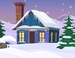 Play GenieFunGames Snowfield Escape