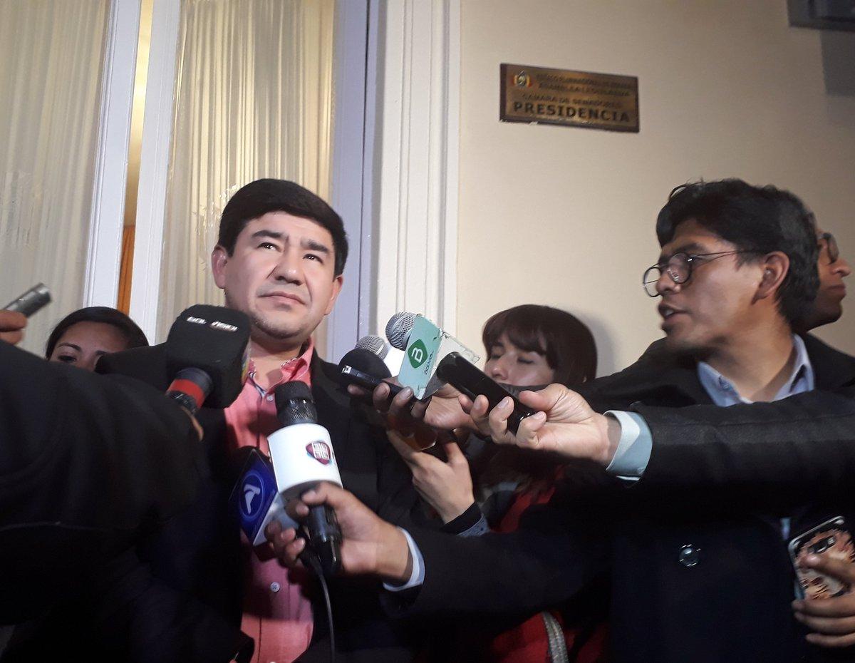 Presidente del Senado asegura que se tomaron en cuenta las sugerencias del TSE a la LOP / SENADO