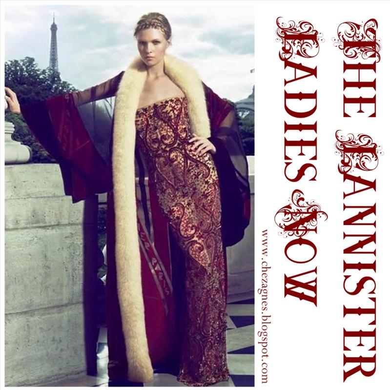 Moda fuera de serie: Inspiración Lannister | Chez Agnes