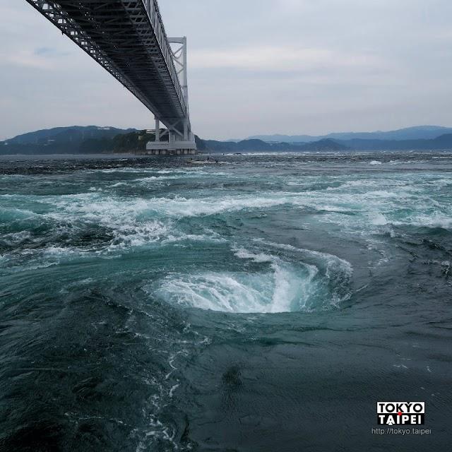 【UZUSHIO汽船】搭小船到鳴門海峽 看無中生有的壯觀漩渦
