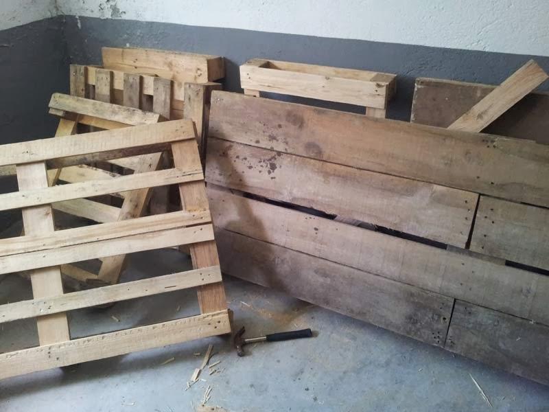El blog de la elena un blog dulce divertido y for Carretas de madera para jardin