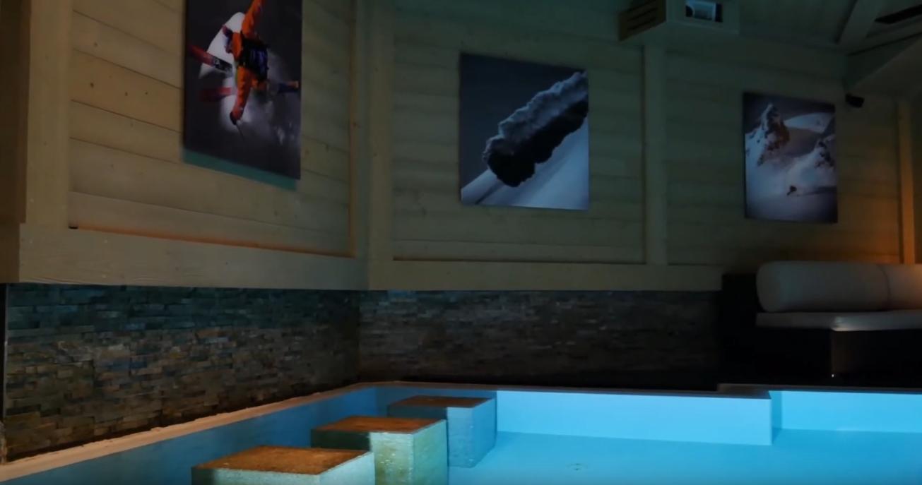 9 Photos vs. Chalet White Pearl - Val d'Isere   Isle Blue Villa Interior Design Tour