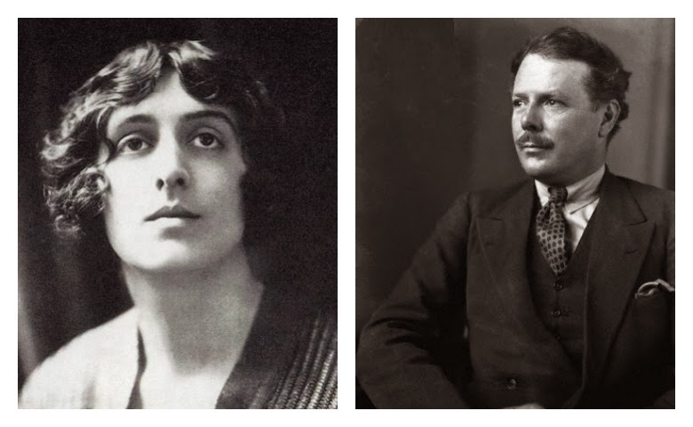 Vita Sack-West y Harold Nicholson