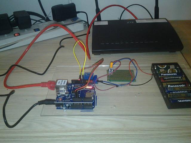 โปรเจค Ethernet + Blynk ปิดเปิดไฟ LED ผ่าน อินเตอร์เน็ต