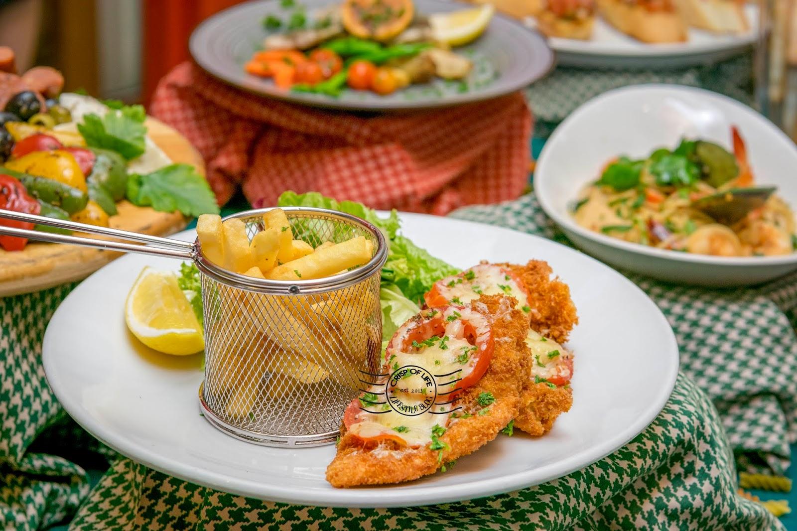 New Authentic Italian Cuisine Menu at Sigi's Bar & Grill Golden Sands Resort, Penang