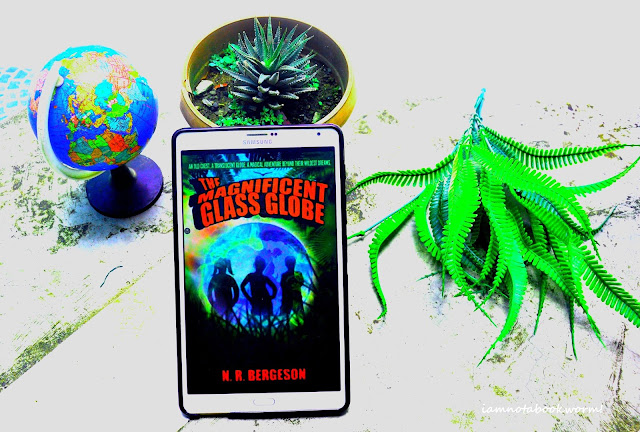The Magnificent Glass Globe by N. R. Bergeson | Blog Tour and Giveaway | Book Review by iamnotabookworm!