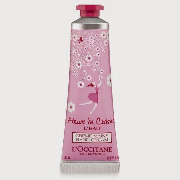 L'Occitane en Provence's Limited-Edition Fleurs de Cerisier L'Eau Hand Cream.jpeg