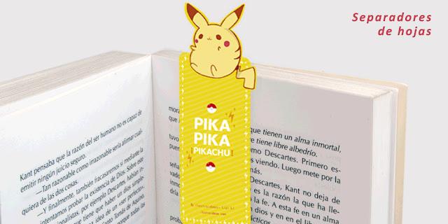 Separador de Pikachu