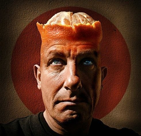 funny orange head man joke picture