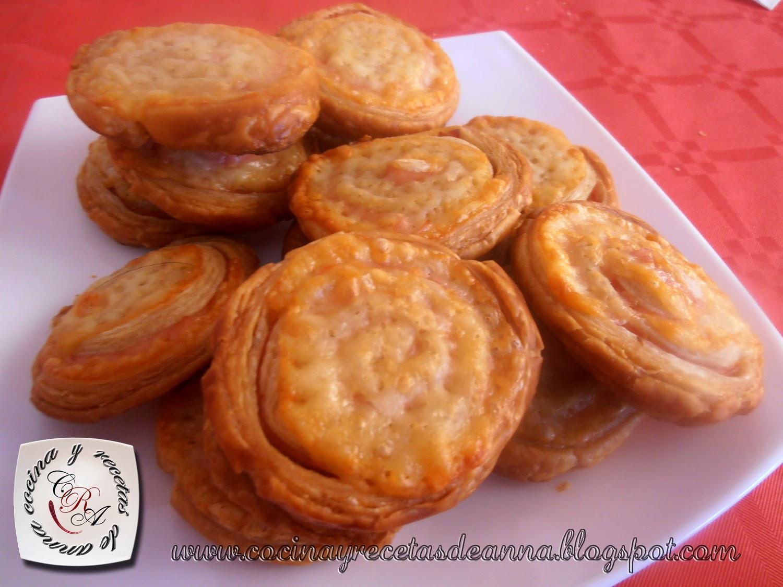 Cocina Y Recetas De Anna Espirales De Jamon York Y Queso