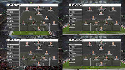 PES 2019 Scoreboard DFL-Supercup Season 2018/2019 by 1002MB