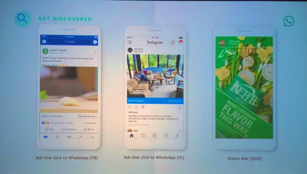 Iklan di dalam Status WhatsApp