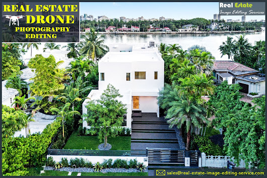 Drone Photo Editing | Real Estate Drone Image Retouching Services