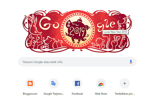 Google Doodle Lunar Chinese New Year 2019 | loveheaven07