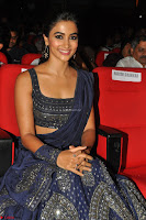 Pooja Hegde choli saree at DJ Duvvada Jaggannadham music launch ~  Exclusive 54.jpg