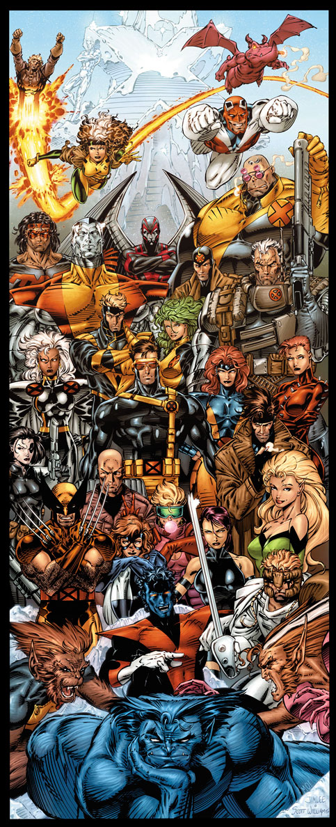 X Men+JimLee