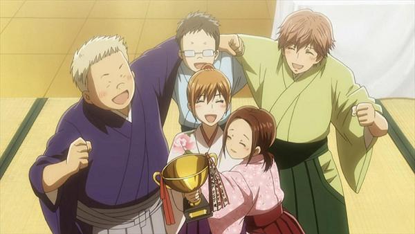 Chihayafuru - rekomendasi anime bulan Ramadhan