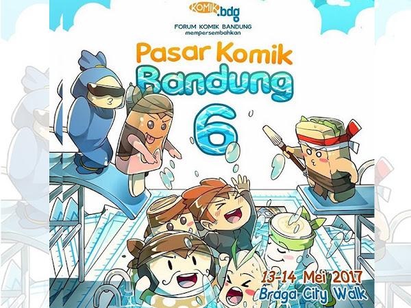 Pasar Komik Bandung 6 Tahun 2017