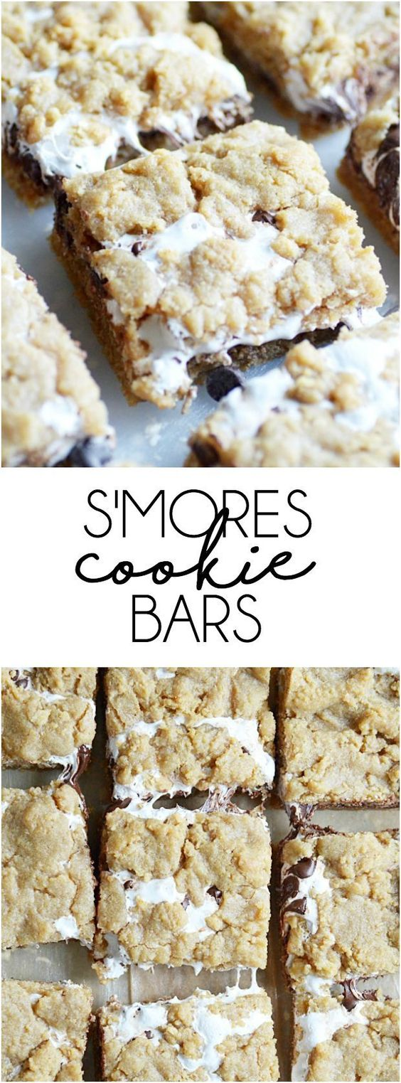 The S'mores Cookie Bars