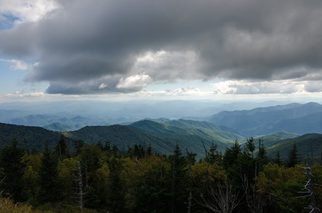 a Picture of The Great Smoky Mountains National Park trail