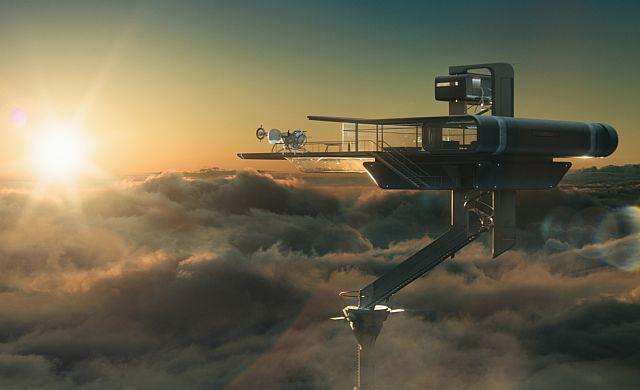 Oblivion Sky Tower Architectoid