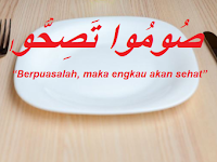 Berpuasalah Maka Kamu Akan Sehat