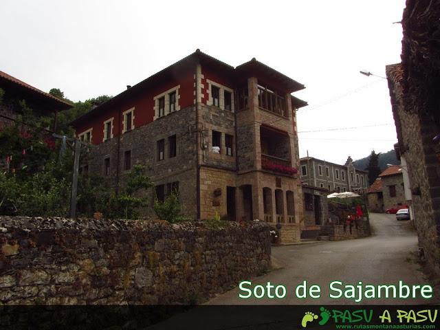 Calles de Soto de Sajambre