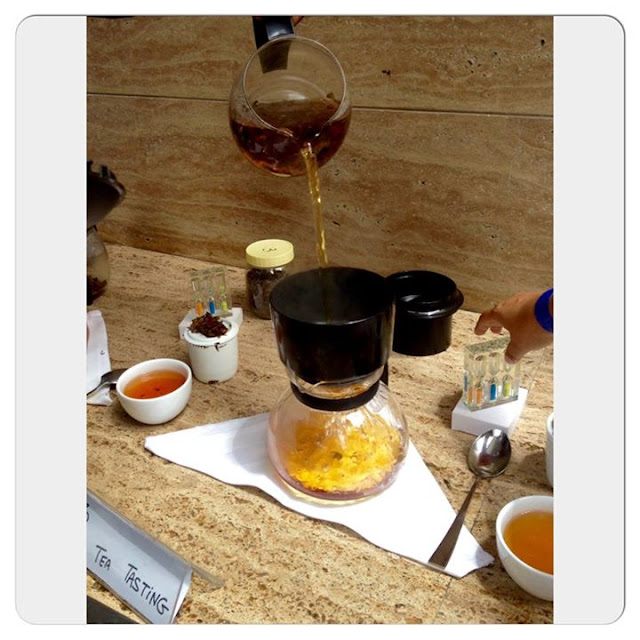 Tea session at Le Meridien, New Delhi