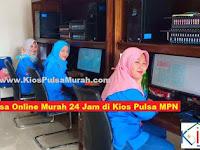 Nikmati Pulsa Online Murah 24 Jam di Kios Pulsa MPN