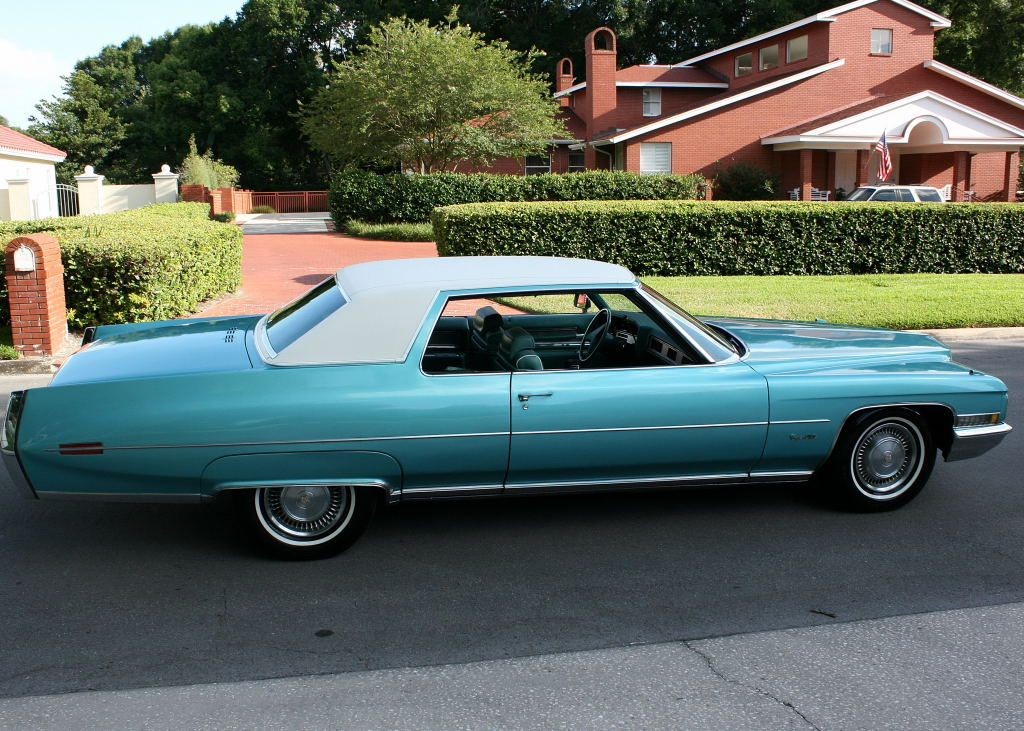 All American Classic Cars 1971 Cadillac Coupe De Ville 2