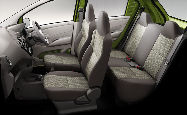 Datsun Redi-GO -  Sleek interiors, spacious