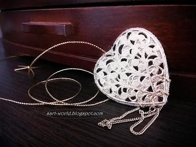 Ażurowe serce