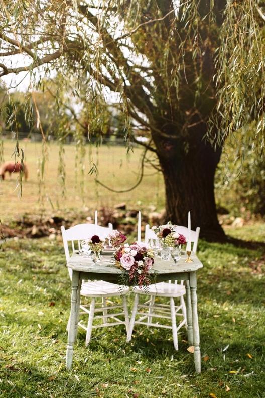 ideas para una pequeña celebración de boda en invierno chic and deco