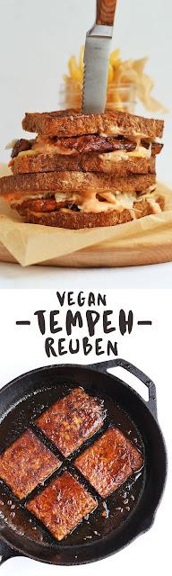Vegan Tempeh Reuben