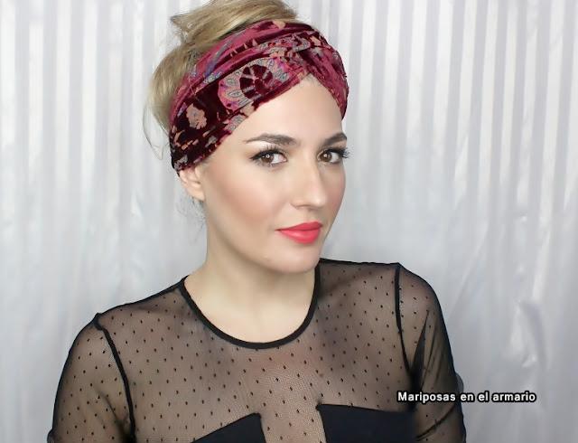 Mariposas en el armario ideas para ponerse turbantes bandana for Turbantes pelo zara