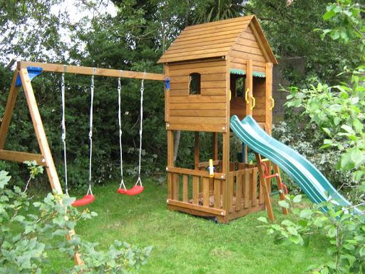 Backyard playground ideas