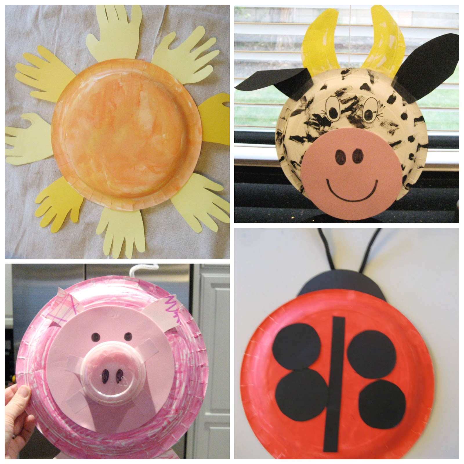 Paper Plate Activities & Paper Plate Yarn Weaving - Sewing ...